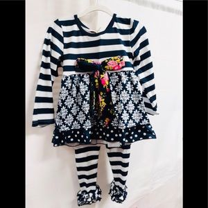 Toddler Girls Outfit 2T,4T, 5/6